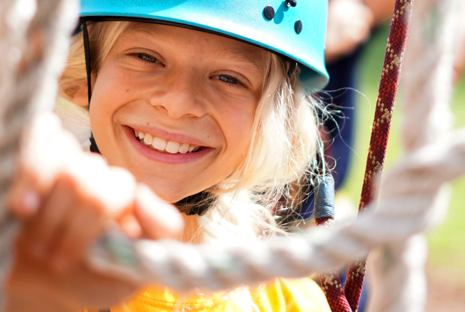 Wee Guide summer camp activity choices