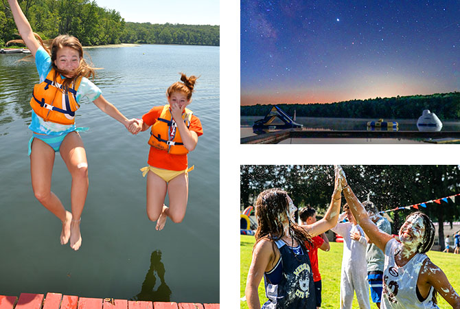 Welcome back to Camp Weequahic in Pennsylvania