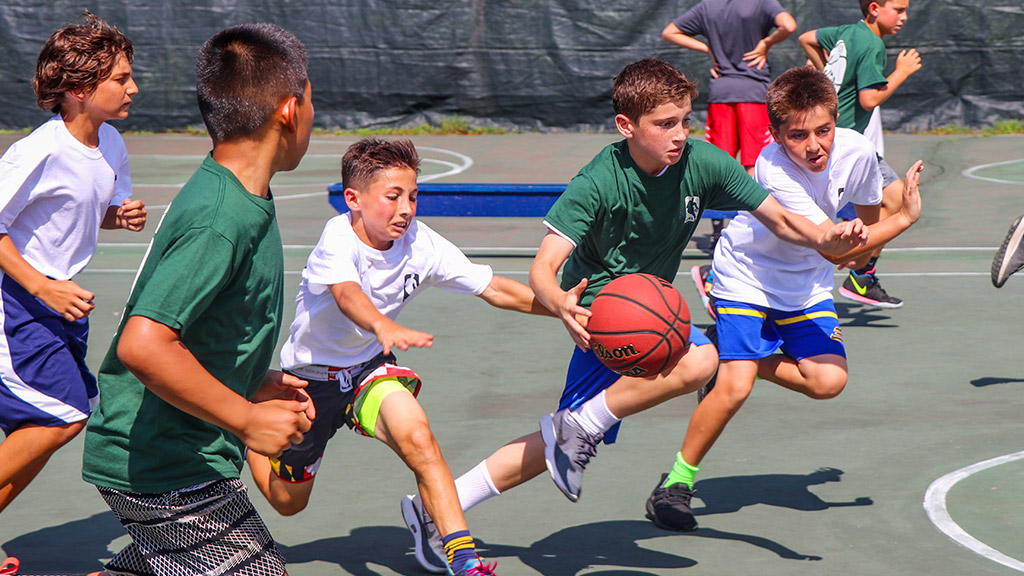 Basketball at Camp Weequahic
